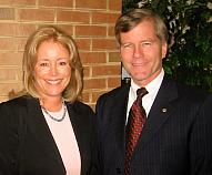 EIE President Donna Rice Hughes with Virginia Attorney General Bob McDonnell